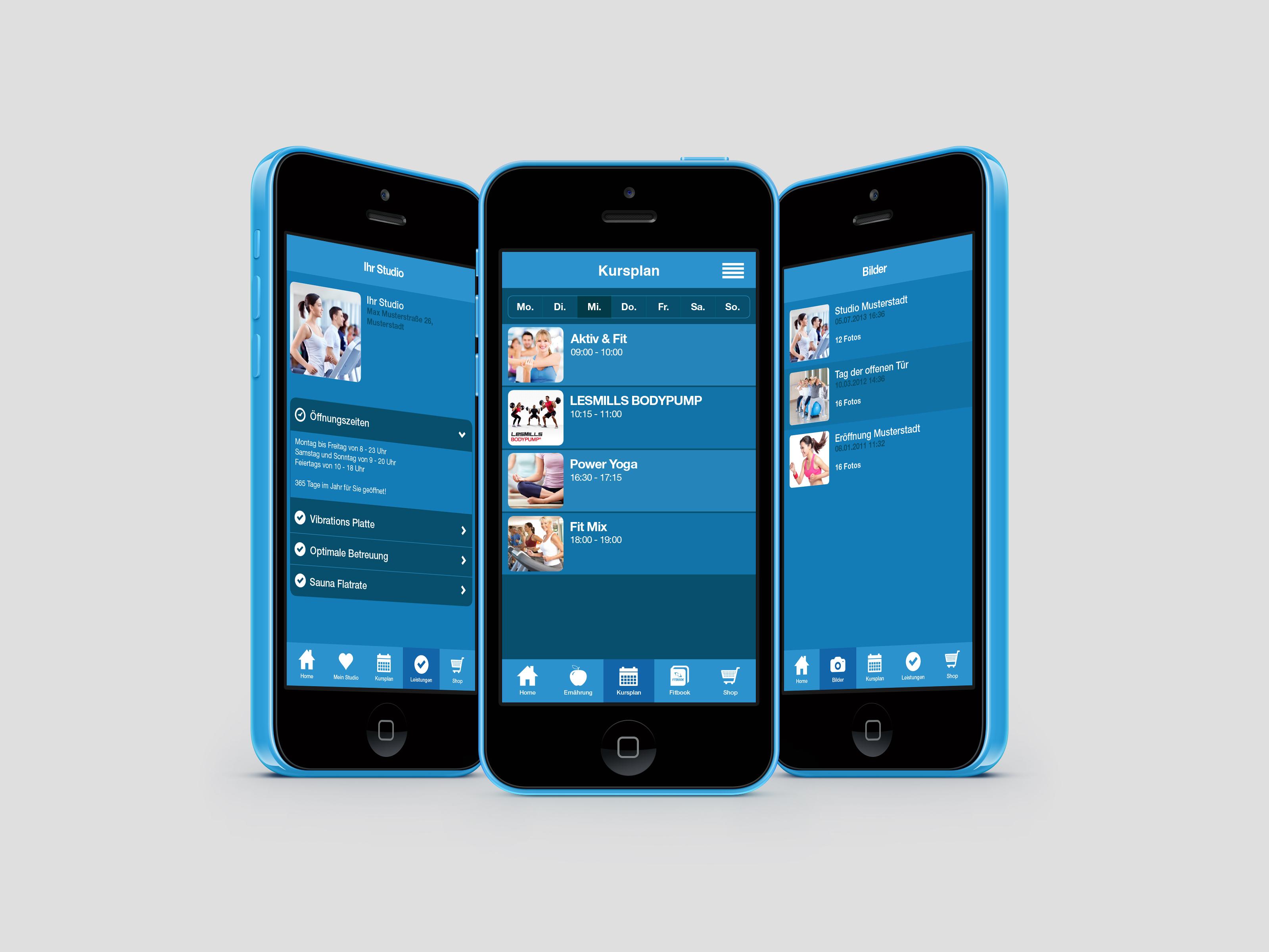 FitApp24 ist die All-in-one Lösung für Fitnessstudios