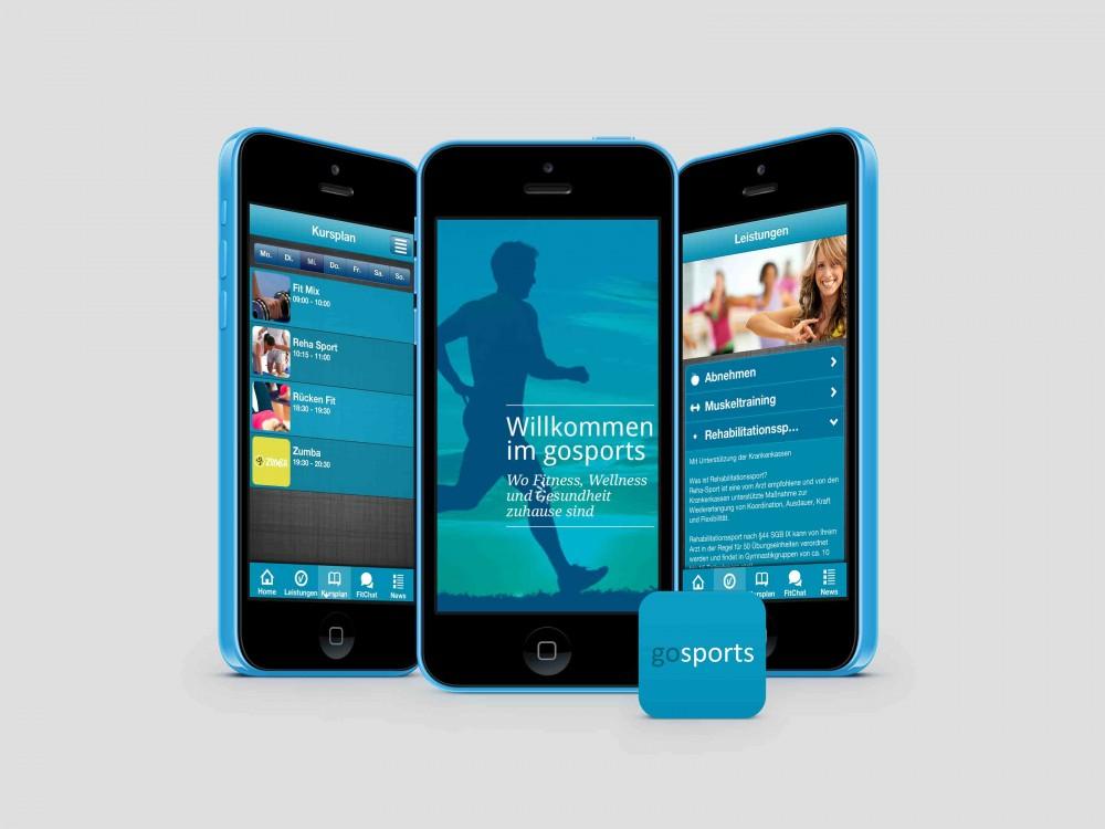 FitApp 24 iOS Kundenapp GoSports Herzebrock