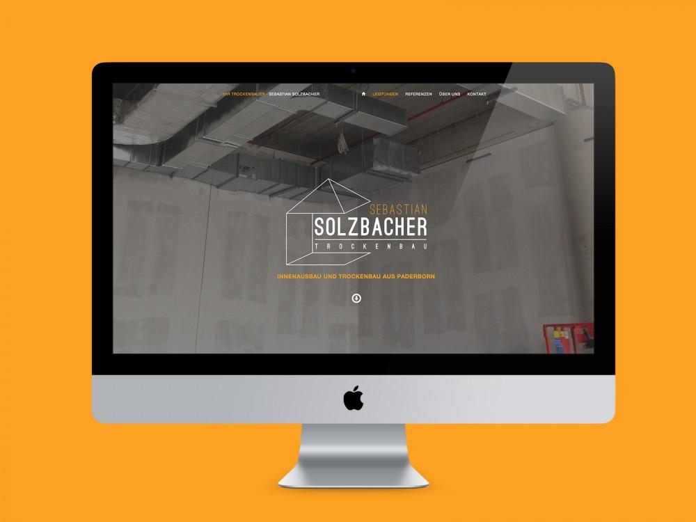 Trockenbauer, Webdesign, Responsive Website, Wordpress