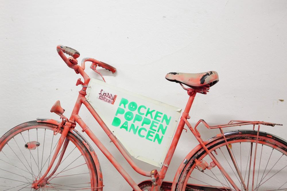 Röcken Pöppen Däncen - Guerilla Marketing Stereo Bielefeld